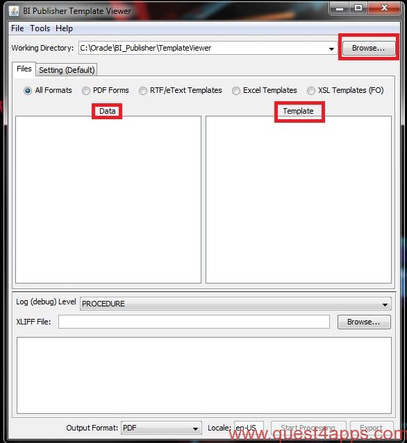 Oracle bi publisher desktop tool quest4apps for Date format in xml publisher template