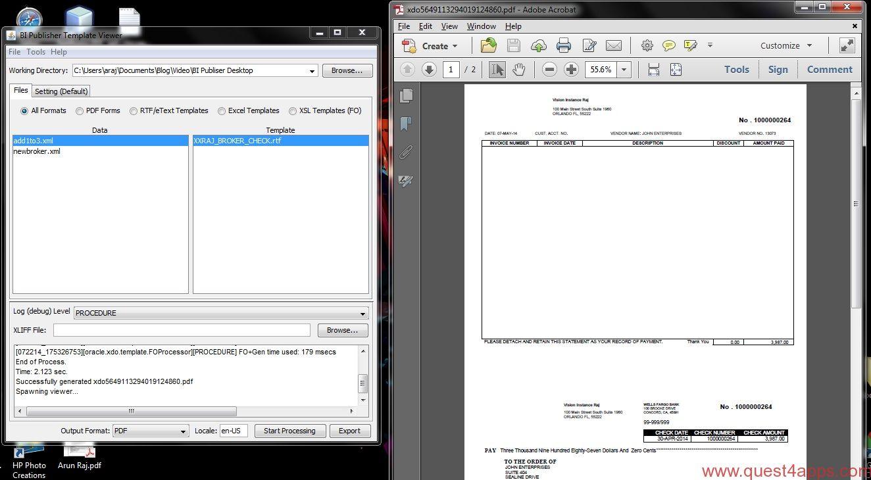 Oracle bi publisher desktop tool quest4apps bipubtemplateviewer002 baditri Images