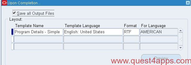 date format in xml publisher template - submit xml publisher report from pl sql quest4apps
