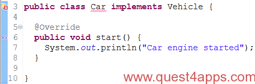 java interfaces point 3