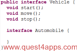 java interfaces point 5