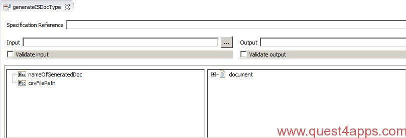 IS doc From CSV File