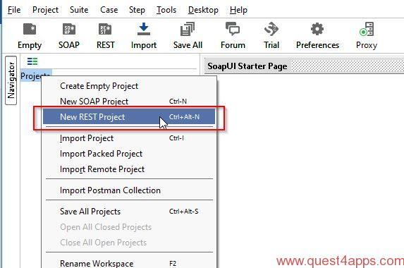 Test PBCS REST APIs Using SOAPUI - quest4apps